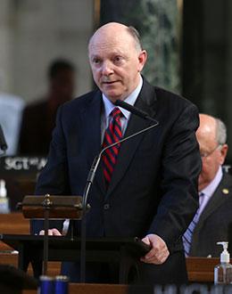 Image of Sen. Tyson Larson