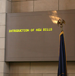Image of Introduction of new bills will continue until Jan. 20.