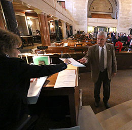 Image of Sen. Jerry Johnson introduced a bill Jan. 7 to amend the Nebraska Pure Food Act.
