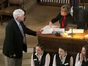 <a href='http://news.legislature.ne.gov/dist42' target='_blank' title='Link to the website of Sen. Mike Groene'>Sen. Mike Groene</a> submits a new bill.