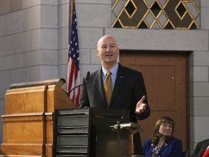 Ricketts said controlled spending and lower taxes would help grow the state's economy.