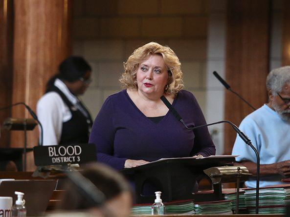 Sen. Carol Blood