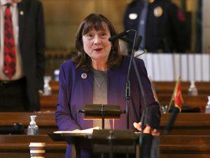 <a href='http://news.legislature.ne.gov/agr' target='_blank' title='Link to the website of the Agriculture Committee'>Agriculture Committee</a> chairperson Sen. Lydia Brasch