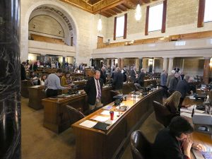 Senators prepare legislation for introduction Jan. 18.