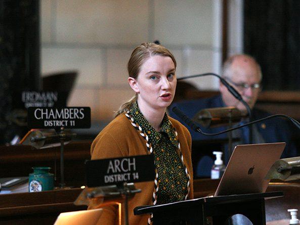 Sen. Megan Hunt