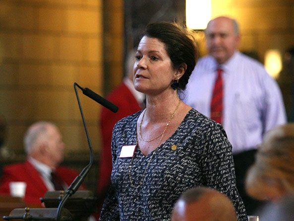 Sen. Suzanne Geist