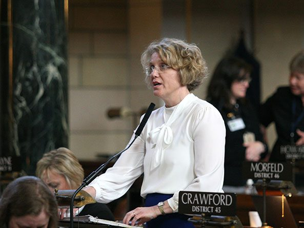 Sen. Sue Crawford