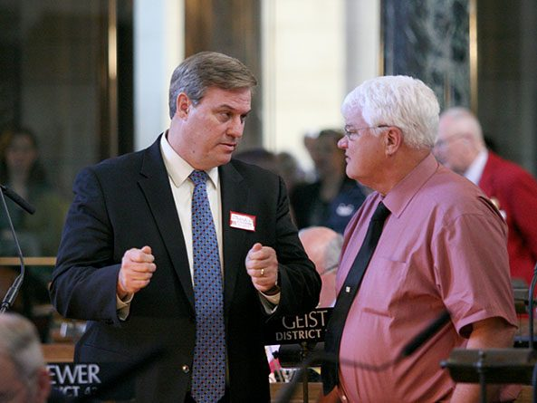 Sens. Mike McDonnell and Mike Groene